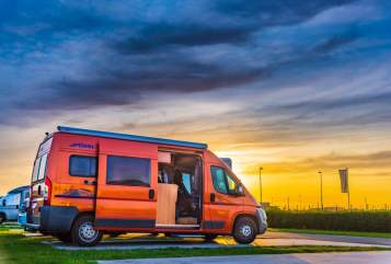 Hire a motorhome in Haltern am See from private owners| Pössl Pössi