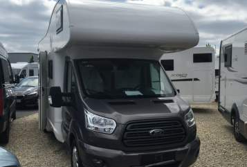 Hire a motorhome in Coburg from private owners| NobelArt 8800 nobelArt