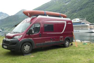 Hire a motorhome in Wedemark from private owners| Pössl Frodo
