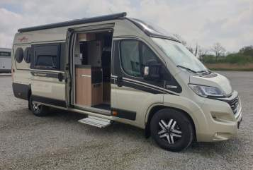 Hire a motorhome in Hagen im Bremischen from private owners| Fiat Ducato Rudolf
