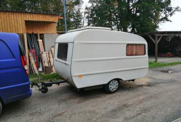 Hire a motorhome in Doberlug-Kirchhain from private owners| Qek Qek Junior