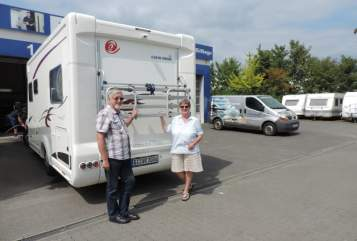 "Hire a motorhome in Oberaula from private owners| Eura Mobil Unser ""Dicker"""