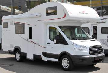 Hire a motorhome in Waldshut-Tiengen from private owners| Roller Team  Noidue Holiday