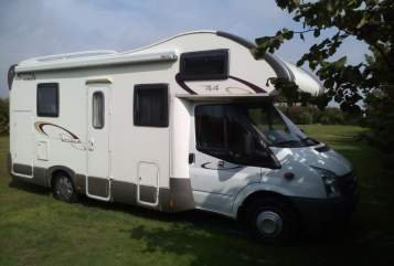 Hire a motorhome in Bergisch Gladbach from private owners  Rimor Koala