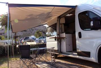 Hire a motorhome in Liezen from private owners| Peugeot Boxer WILDCAMPER
