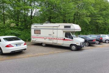 Hire a motorhome in Gützkow from private owners  Fiat  Bärbel