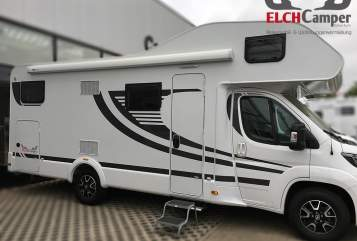 Hire a motorhome in Bötersen from private owners| ELCHCamper Family² - A702