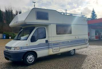 Hire a motorhome in Koblenz from private owners| Fiat Immer Lacht