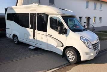 Hire a motorhome in Ellwangen from private owners| Hobby Premium Van