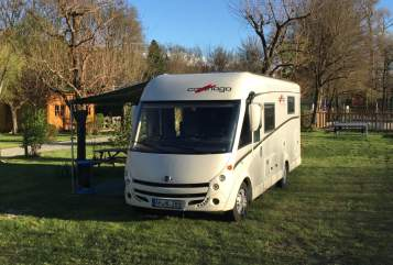 Hire a motorhome in Gronau from private owners| Carthago Adonis