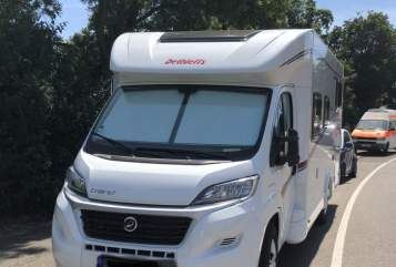 Hire a motorhome in Stuttgart from private owners| Dethleffs DreamCatcher