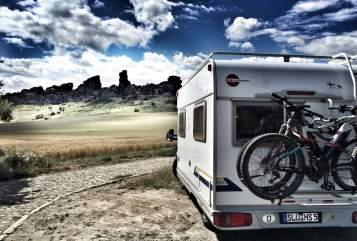 Hire a motorhome in Sinntal from private owners| Bürstner Bürsti