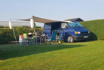 Hire a motorhome in Rommerskirchen from private owners| VW BBQ-Mobil