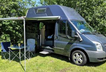 Hire a motorhome in Hamburg from private owners| Ford Halldor