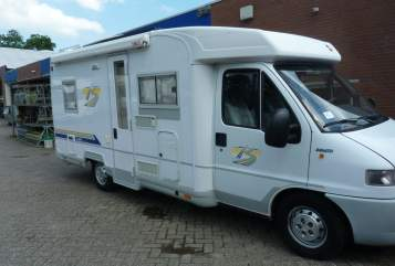 Hire a motorhome in Almere from private owners| Burstner Burstner