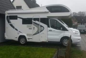 Hire a motorhome in Staufenberg from private owners|  Chausson Ford M16 Sprotte