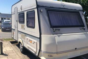 Hire a motorhome in Königs Wusterhausen from private owners| Hobby Bärbel