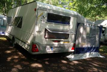 Hire a motorhome in Scharnebeck from private owners| Knaus Klaus Südkind
