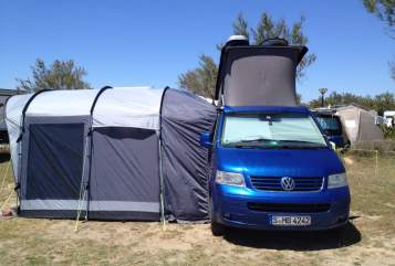 Hire a motorhome in Stuttgart from private owners| VW Blue-Clue