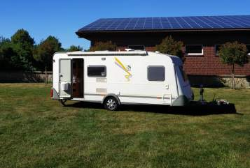 Hire a motorhome in Greven from private owners  Knaus Tobi's Camper