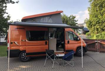 Hire a motorhome in Schwelm from private owners| Pössl Ernie