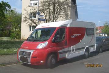 Hire a motorhome in Erlangen from private owners| Detleffs Fiat rotes Playmobil