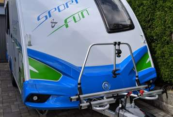 Hire a motorhome in Lappersdorf from private owners  Knaus Funsport