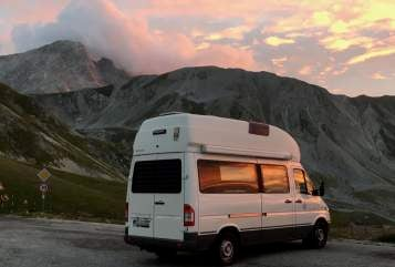 Hire a motorhome in Landkreis Calw from private owners| Mercedes Benz Paul