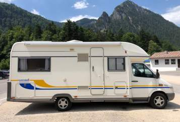 Hire a motorhome in Mühldorf a. Inn from private owners| Daimlerchrysler 316 CDI Urlaubsbombe
