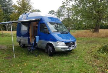 Hire a motorhome in Fehmarn from private owners  Mercedes Ohty