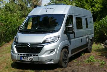 Hire a motorhome in Potsdam from private owners  Clever Clever Family
