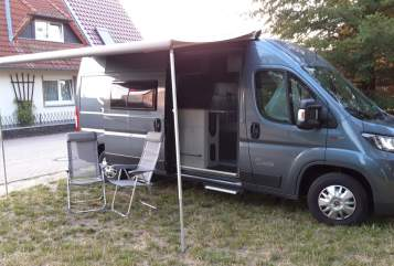 Hire a motorhome in Salzwedel from private owners| Karmann Buddy
