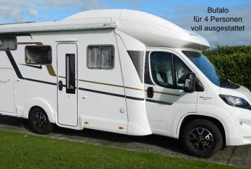 Hire a motorhome in Schongau from private owners| Eura Bufalo