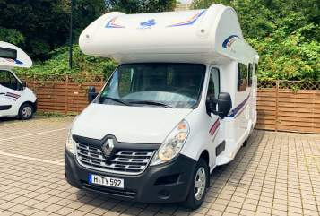 Hire a motorhome in Hannover from private owners  Renault Magellan