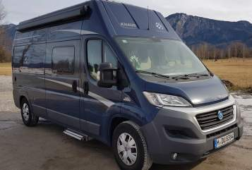 Hire a motorhome in München from private owners| Knaus Knausl