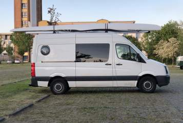 Hire a motorhome in Berlin from private owners| VW  Surfi