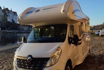 Hire a motorhome in Klipphausen from private owners| Wohnmobil Ahorn Camp A 595 Modell 2019 mit Klima Ben-neu-Klima