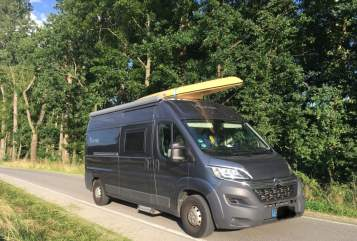 Hire a motorhome in Radebeul from private owners| Citroën  Grinsekatze