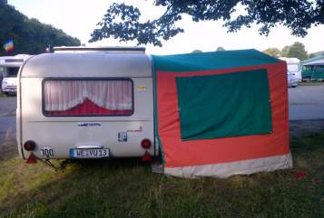 Hire a motorhome in Weimar from private owners| QEK, auch Queck genannt Strolch