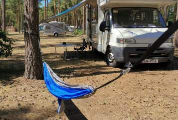 Hire a motorhome in Königs Wusterhausen from private owners| Crystall Paule