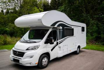 Hire a motorhome in Bisingen from private owners| Dethleffs Glücksmobil Glücksmobil