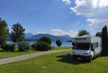 Hire a motorhome in Waldenburg from private owners| Fiat Ducato (Dethleffs Advantage)  ÖHRMO