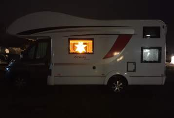 Hire a motorhome in Langelsheim from private owners| Büstner Argos A 660 T&T