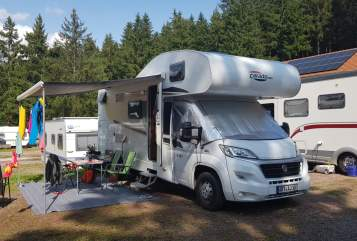 Hire a motorhome in Oberheldrungen from private owners| Fiat Carado  Dave