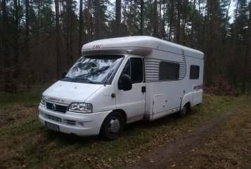Hire a motorhome in Berlin from private owners| FIAT Cantor