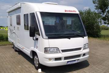 Hire a motorhome in Sangerhausen from private owners  Dethleffs Hugo