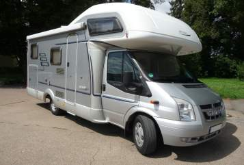 Hire a motorhome in Senden from private owners| Ford Transit 2,2 TDCI Lucky