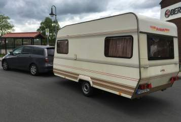 Hire a motorhome in Minden from private owners| Dethleffs Susi
