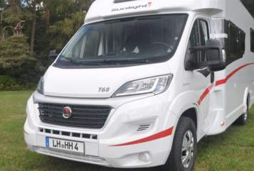 Hire a motorhome in Datteln from private owners| Fiat Ducato  HERR ROSSI