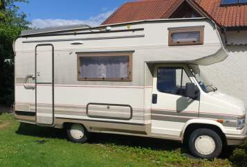 Hire a motorhome in Burghausen from private owners| Fiat Xaver